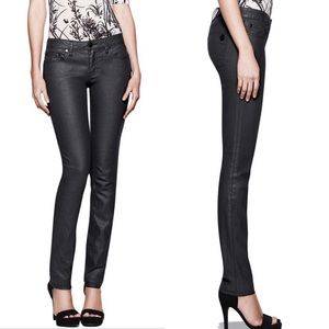 NWT Tory Burch Ivy Super Skinny Jeans Icicle Wash
